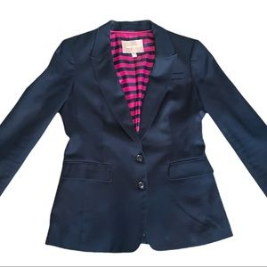 Banana Republic Navy Blue Suit Jacket Blazer